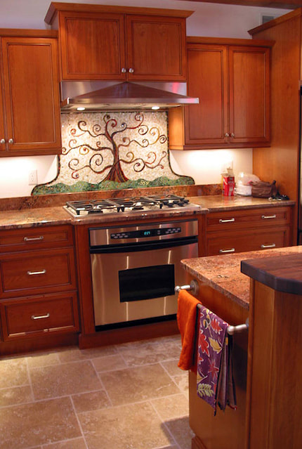 Kitchen Mosaic Backsplash Bigbangmosaics
